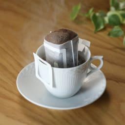 コーヒーフィルター1杯用 珈琲パチット100枚入り 使用イメージ(お届けするのはフィルターのみです)