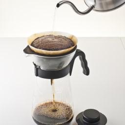 HARIO/ハリオ V60アイスコーヒーメーカー ホットコーヒーを淹れることもできます。