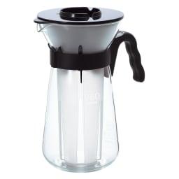 HARIO/ハリオ V60アイスコーヒーメーカー 収納時はドリッパーと分水器を入れ替えるとコンパクトに!