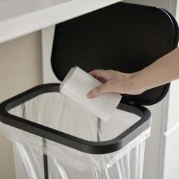 横開き分別ゴミ袋ホルダー ルーチェ