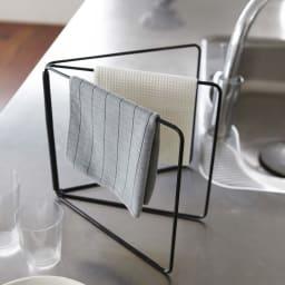 折り畳み布巾ハンガー タワー