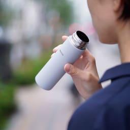 HARIO/ハリオ ポケットに入るスティックボトル 140ml (ア)グレー