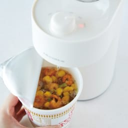 recolte/レコルト 2秒でお湯が出る!ホットウォーターサーバー 【MAX約95℃】カップ麺にも。