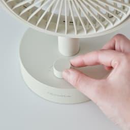 recolte/レコルト キッチンや寝室に!充電式コードレステーブルファン 扇風機 運転中に[スイッチダイヤル]を1回押す:首振りモード(同じ動作を繰り返すと元に戻ります)運転中に[スイッチダイヤル]を2回連続で押す:リズム風モード(同じ動作を繰り返すと元に戻ります)。