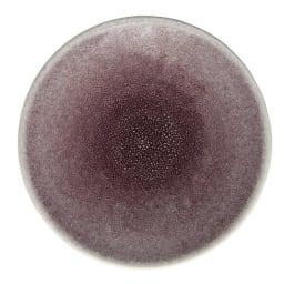 Jars デザートプレート TOURRON 同色2枚組 (イ)パープル 上品で温かみのある落ち着いた色彩。