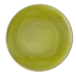 Jars/ジャス ディナープレート TOURRON 同色2枚組 (ウ)アボカド 差し色にもぴったり、華やかなグリーン。