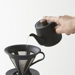 ミヤコ ステンレス製急須 小 コーヒーのドリップにも◎。