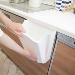 Shellpaka シェルパカ折り畳めるキッチン用ダストボックス