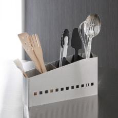 ステンレス製キッチンツールスタンド 斜めタイプ 幅30cm