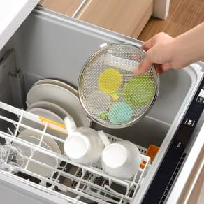 小物が洗える食洗機カゴ 写真