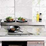 排気口カバーできるコンロ奥テーブル コンロ幅75cm用 写真
