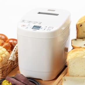 お餅も、焼き芋も、甘酒もつくれる!ホームベーカリー 1斤・1.5斤用 写真
