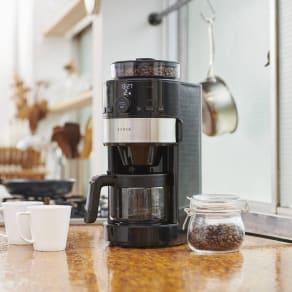 siroca シロカ コーン式全自動コーヒーメーカー 写真