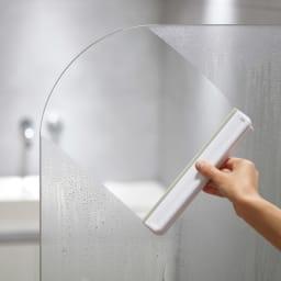 JosephJoseph/ジョセフジョセフ お風呂の窓や、鏡の掃除に!イージーストア シャワー スクイージ