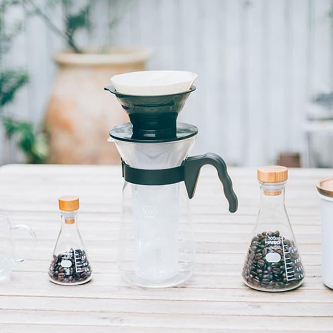 HARIO/ハリオ V60アイスコーヒーメーカー 使用イメージ