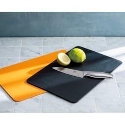 包丁メーカーが作った抗菌まな板 特典なし 2枚組 (ウ)オレンジ1・ブラック1 2枚組 特典なし
