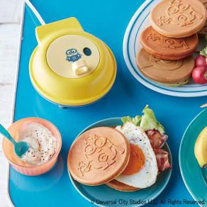 recolte/レコルト スマイルベイカーミニ ミニオン パンケーキメーカー 写真