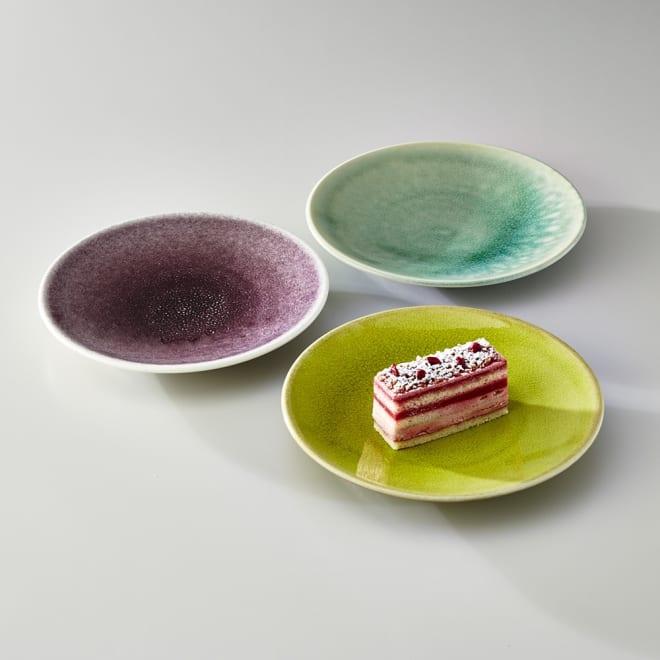 Jars デザートプレート TOURRON 美しい色づかいでテーブルを華やかに演出するフランス製食器です。