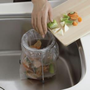 家事問屋 ゴミ袋ホルダー 写真
