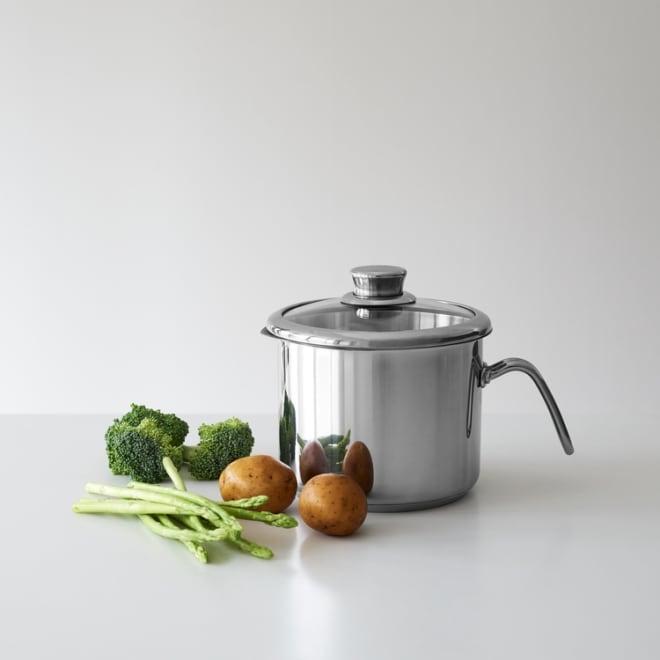 沸かす、湯切り、炊く、揚げる、マルチに使える マイヤー マルチポット