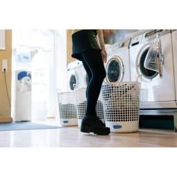 Freddy Leck/フレディレック ランドリーバスケット フレディ レック・ウォッシュサロンには、毎日の洗濯の時間や空間を楽しく心地の良いものにするアイデアや仕掛けが散りばめられています。