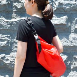 EX.48 防水マルチキャリーバッグ ショルダーストラップ付で移動も楽々。