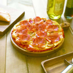 食パンからピザを作る【PAN DE PIZZA パンデピザ】