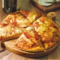 食パンからピザを作る【PAN DE PIZZA パンデピザ】 具を詰めたスタッフドピザ