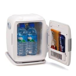 2電源式 コンパクト電子保冷保温ボックス S (ア)グレー INSIDE