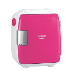 2電源式 コンパクト電子保冷保温ボックス S (イ)ピンク