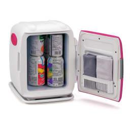 2電源式 コンパクト電子保冷保温ボックス S (イ)ピンク INSIDE