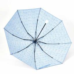 フィンレイソン 晴雨兼用大判折りたたみ日傘 60cm(直径105cm) (ア)ブルー