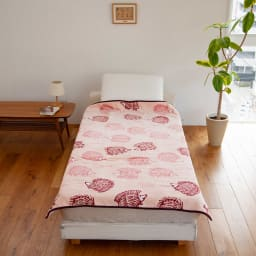 LISA LARSON/リサ・ラーソン電気毛布シリーズ 電気掛け敷き毛布 (イ)ハリネズミ(ピンク)