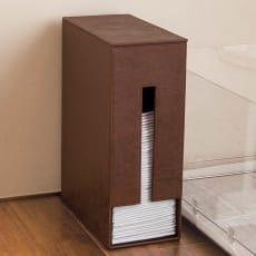 高級感にこだわったペットトイレ用シーツ収納BOX