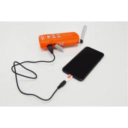 多機能自家発電ライト スーパーミニDX-S 非常時でも電池切れの心配不要の自家発電マルチユニット。