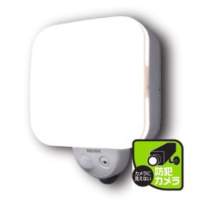 センサーライト一体型防犯カメラ【リーベックス 人感センサー式ライトカメラ microSDHC+電池セット】 写真