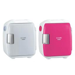 2電源式 コンパクト電子保冷保温ボックス S 左から (ア)グレー (イ)ピンク