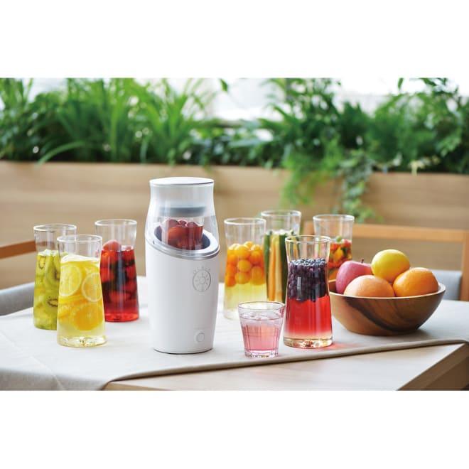 OLALA フルーツビネガーメーカー 季節の果物とお酢でつくるフルーツビネガーをご自宅で!