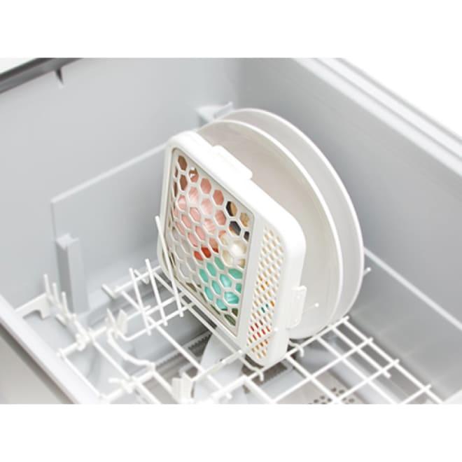 食洗器用小物ネット 使用イメージ