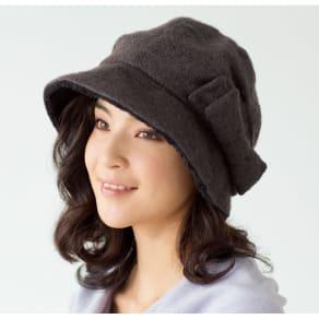 蓄熱素材のたためるすっぴん隠し帽子 写真