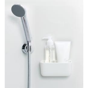 きれいに暮らす。マグネット浴室小物入れ 写真