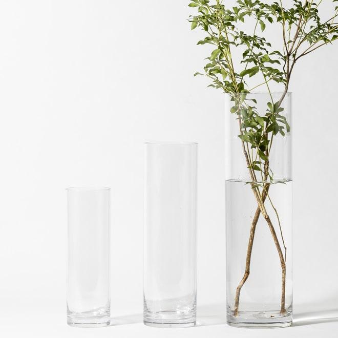 XZY 割れない花びんシリンダー 30cm お届けは30cm単品となります。※左から高さ30cm、40cm(別売り)、50cm(別売り)