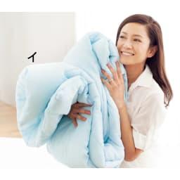 テンセル(R)&ガーゼ寝具シリーズ さらさらピローパッド同色2枚組 ※写真はコンフォーターです。お届けはピローパッド(同色2枚組)のみとなります