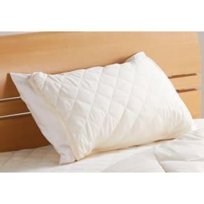 テンセル(R)&ガーゼ寝具シリーズ さらさらピローパッド同色2枚組 写真