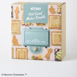 BRUNO  ムーミン ホットサンドメーカー ダブル(2枚焼き) パッケージも可愛いので、プレゼントにおすすめです。
