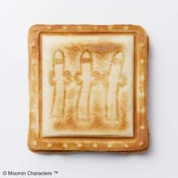 BRUNO  ムーミン ホットサンドメーカー ダブル(2枚焼き) リトルミイの裏面はニョロニョロです。