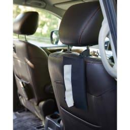たためる携帯ティッシュケース タワー 車用のティッシュケースとして。