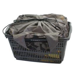 保冷保温機能付き! レジかごに入る大容量エコバッグ 入れたまま縛れるので、会計後もスムーズ♪