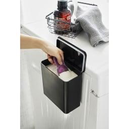 Tower/タワー マグネット洗濯洗剤ボールストッカー 洗濯粉末洗剤の容器として。