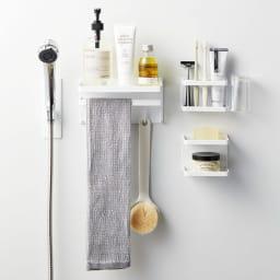 Tower/タワー マグネット シャワーホルダー シリーズ品とのコーディネートでお好みのバスルームを!